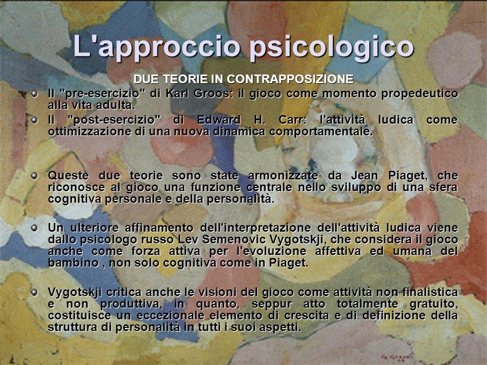 L approccio psicologico
