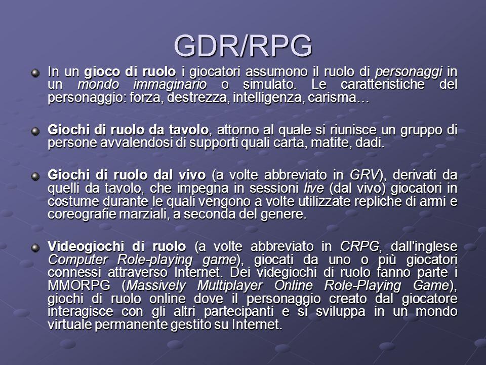 GDR/RPG