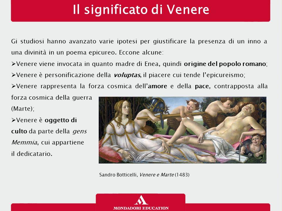 Il significato di Venere