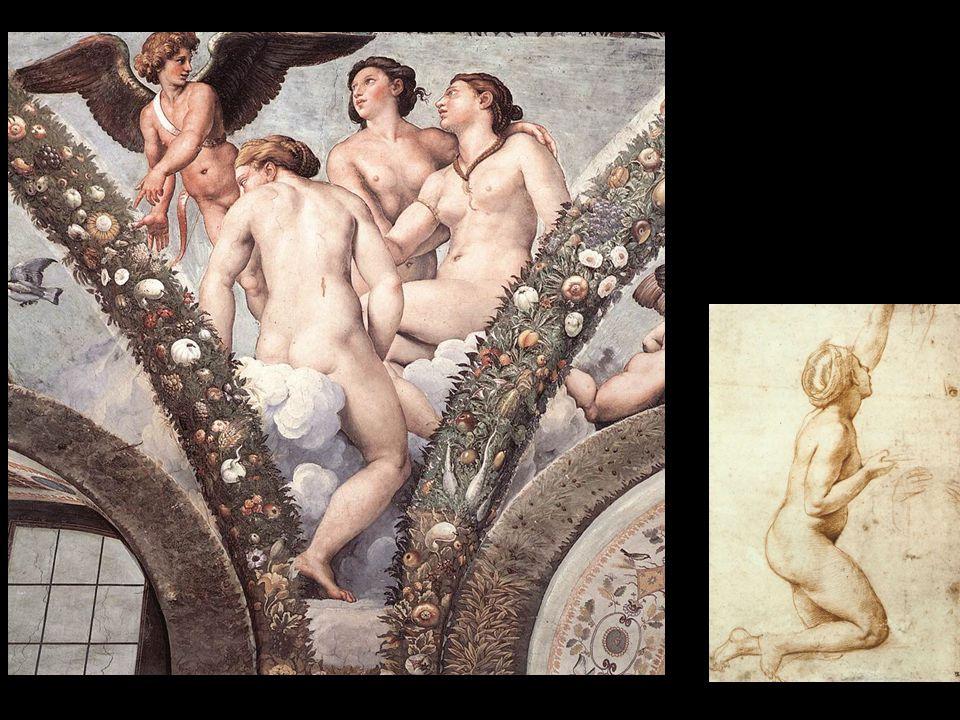Raffaello, Loggia di Amore e Psiche, Villa Farnesina, 1517-18