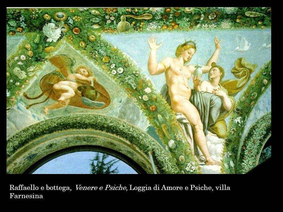 Raffaello e bottega, Venere e Psiche, Loggia di Amore e Psiche, villa Farnesina