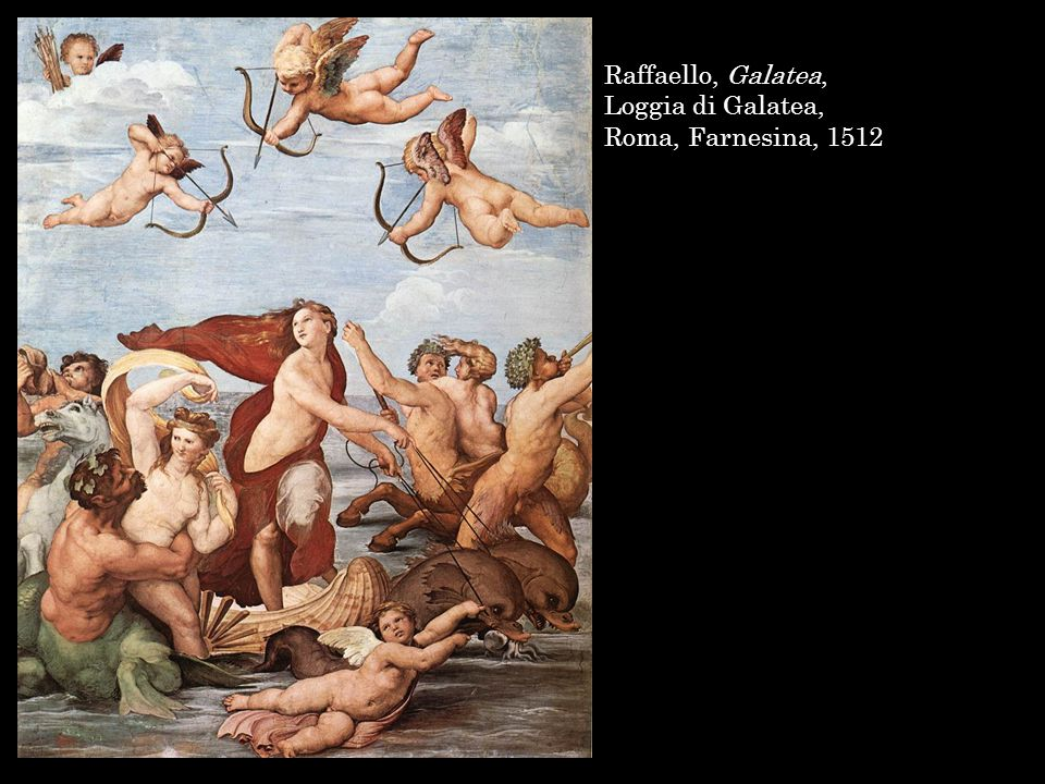 Raffaello, Galatea, Loggia di Galatea, Roma, Farnesina, 1512