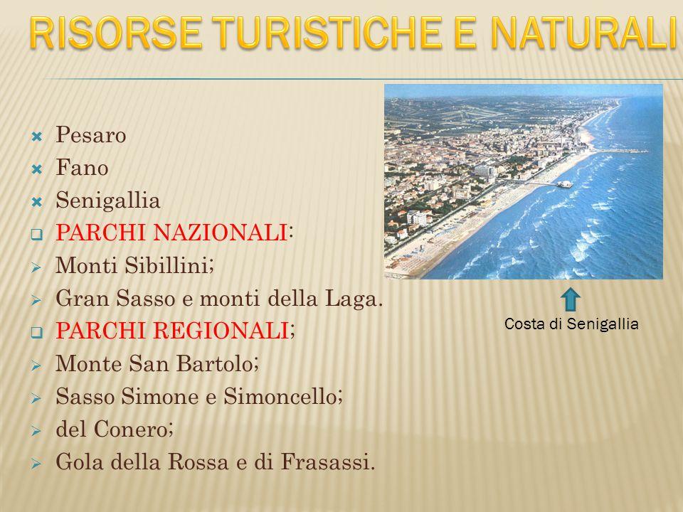 RISORSE TURISTICHE E NATURALI