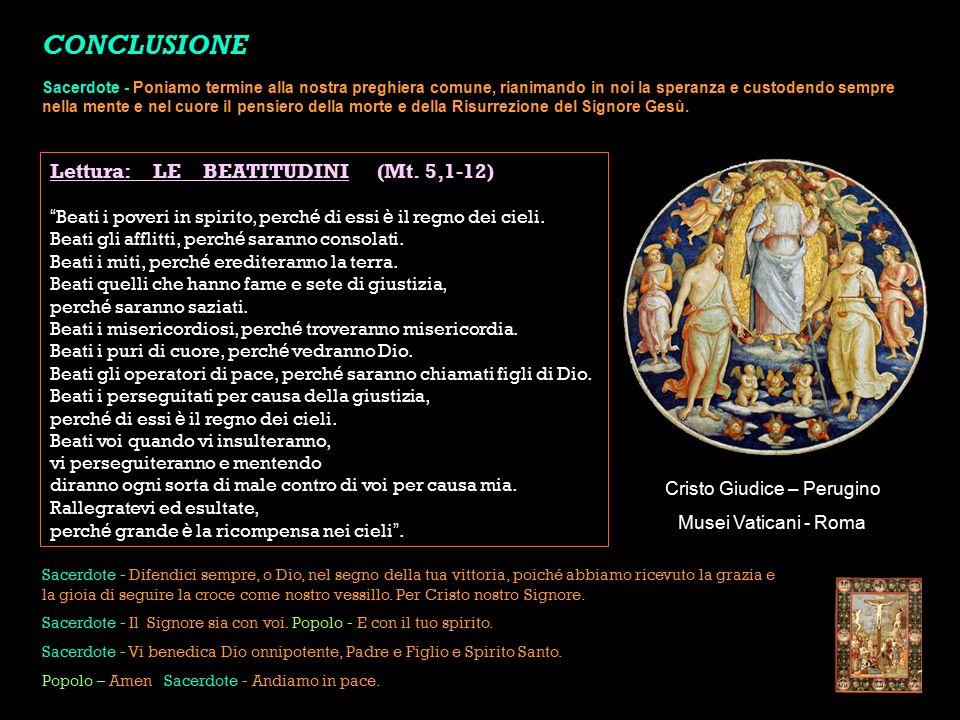 Cristo Giudice – Perugino