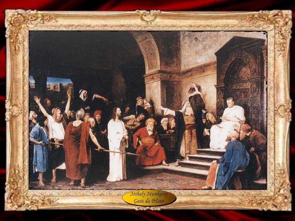 Mihaly Munkacsy Gesù da Pilato