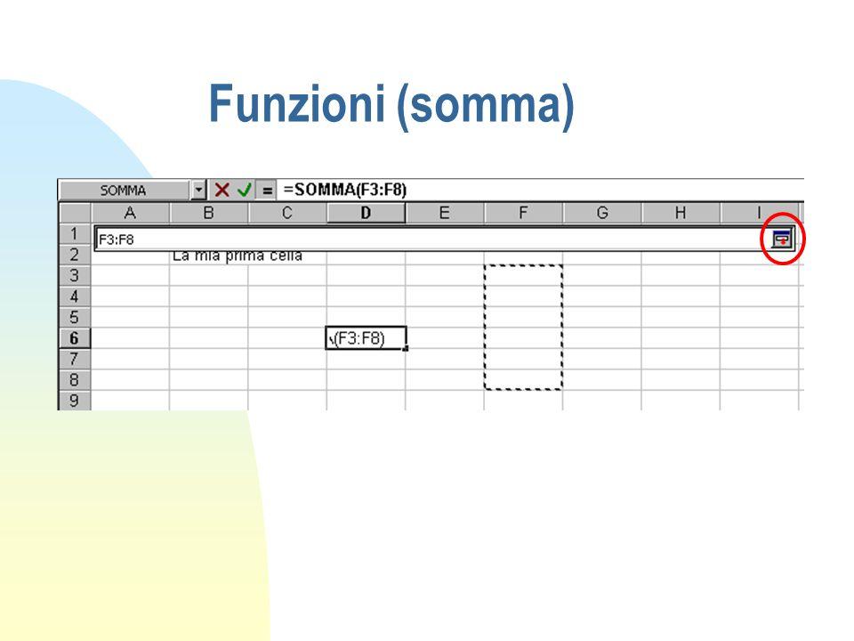 Funzioni (somma)