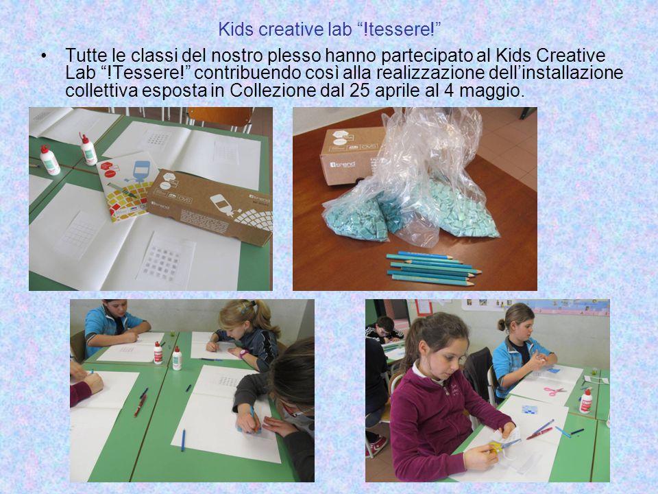 Kids creative lab !tessere!