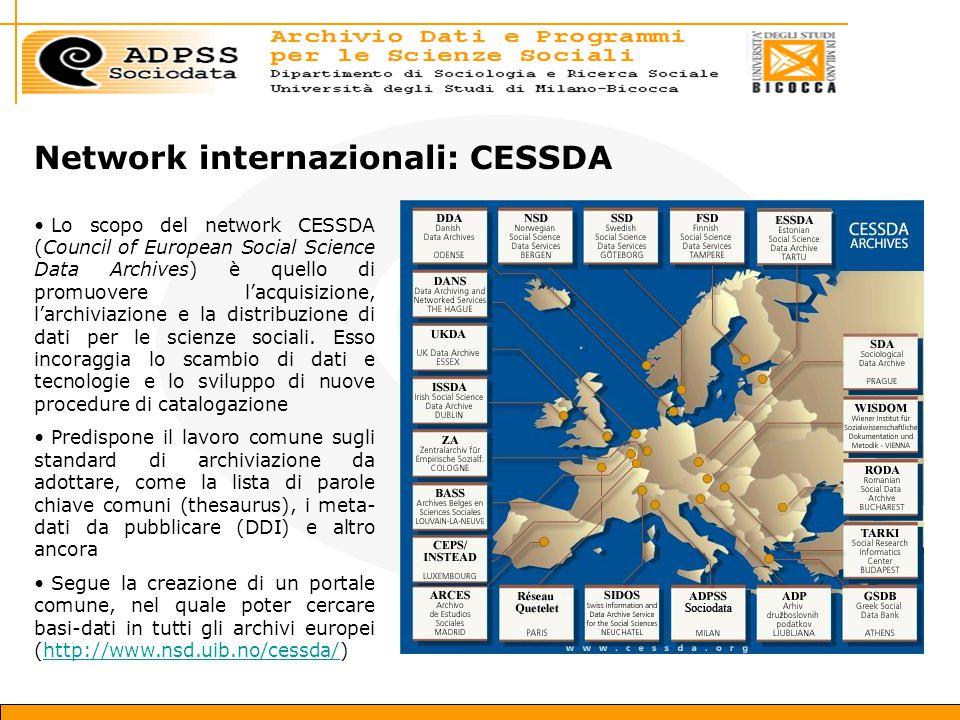 Network internazionali: CESSDA