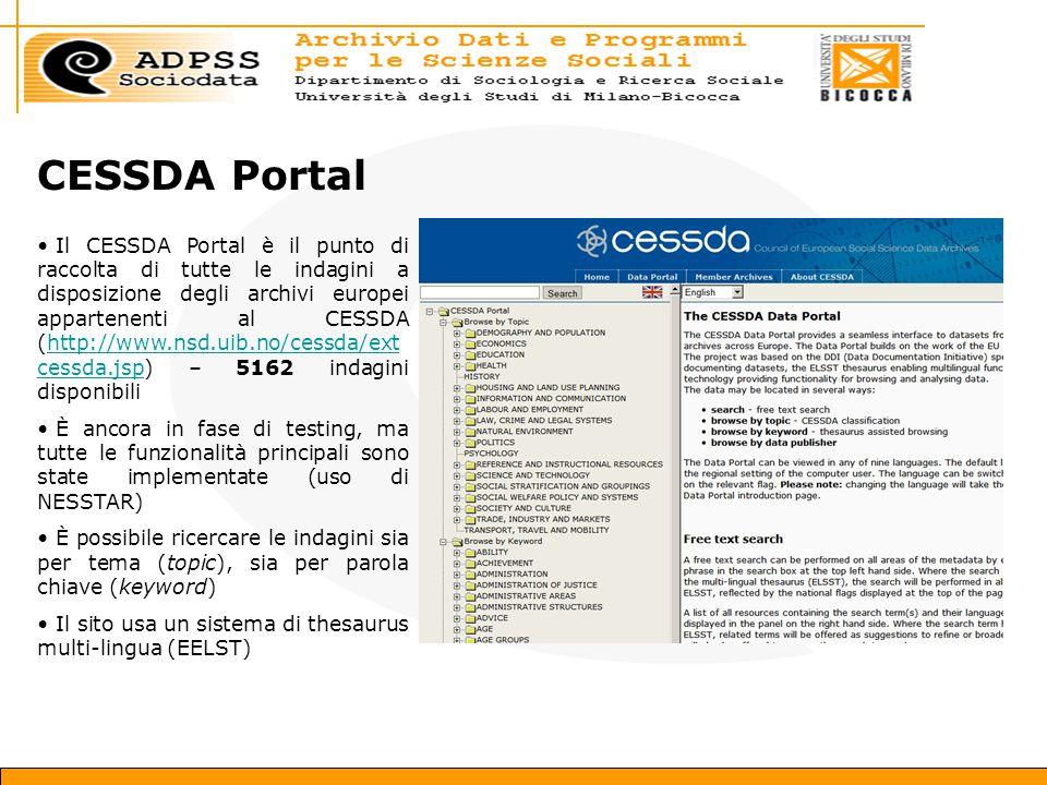 CESSDA Portal