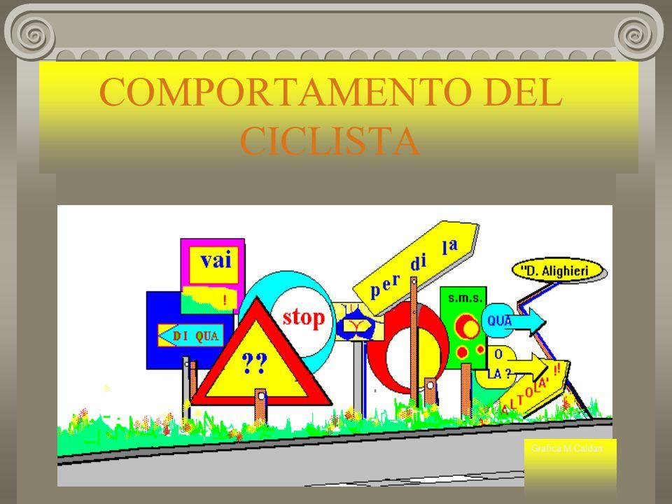 COMPORTAMENTO DEL CICLISTA