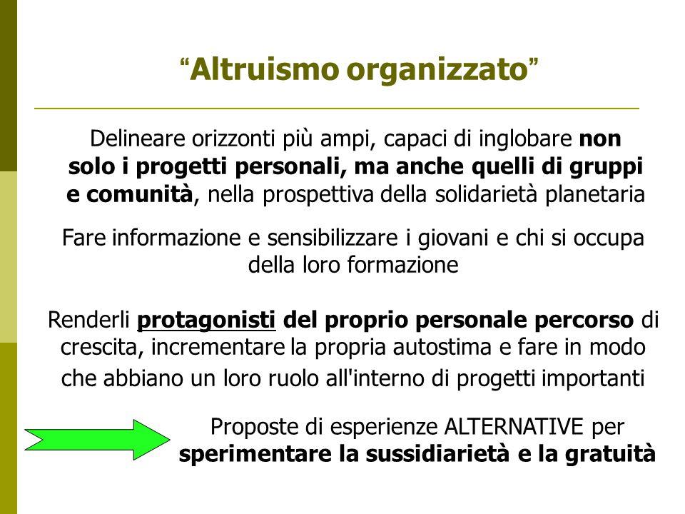 Altruismo organizzato