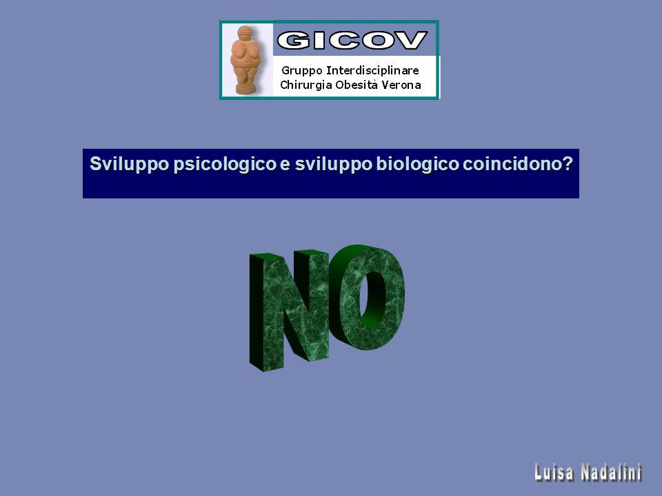 Sviluppo psicologico e sviluppo biologico coincidono