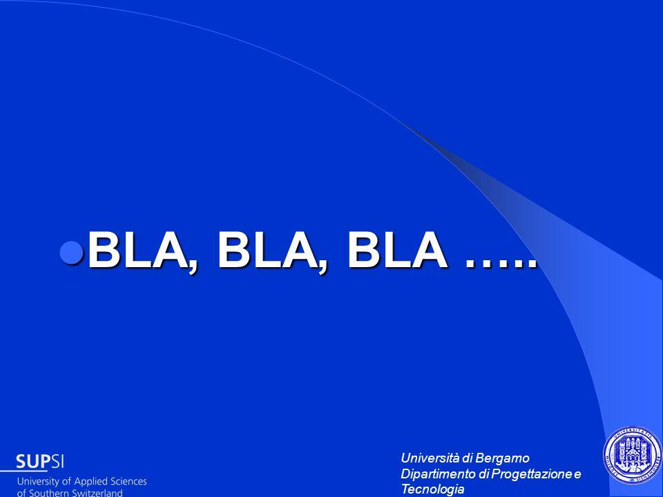 BLA, BLA, BLA …..