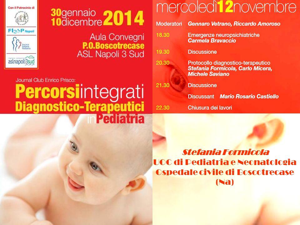 UOC di Pediatria e Neonatologia Ospedale civile di Boscotrecase (Na)