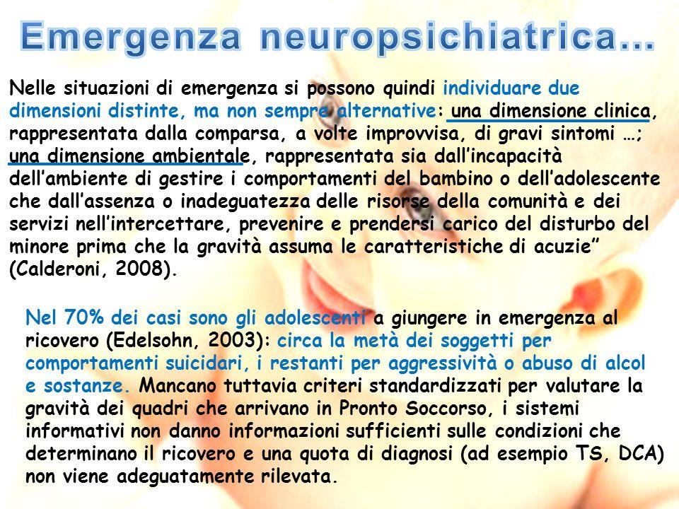 Emergenza neuropsichiatrica…