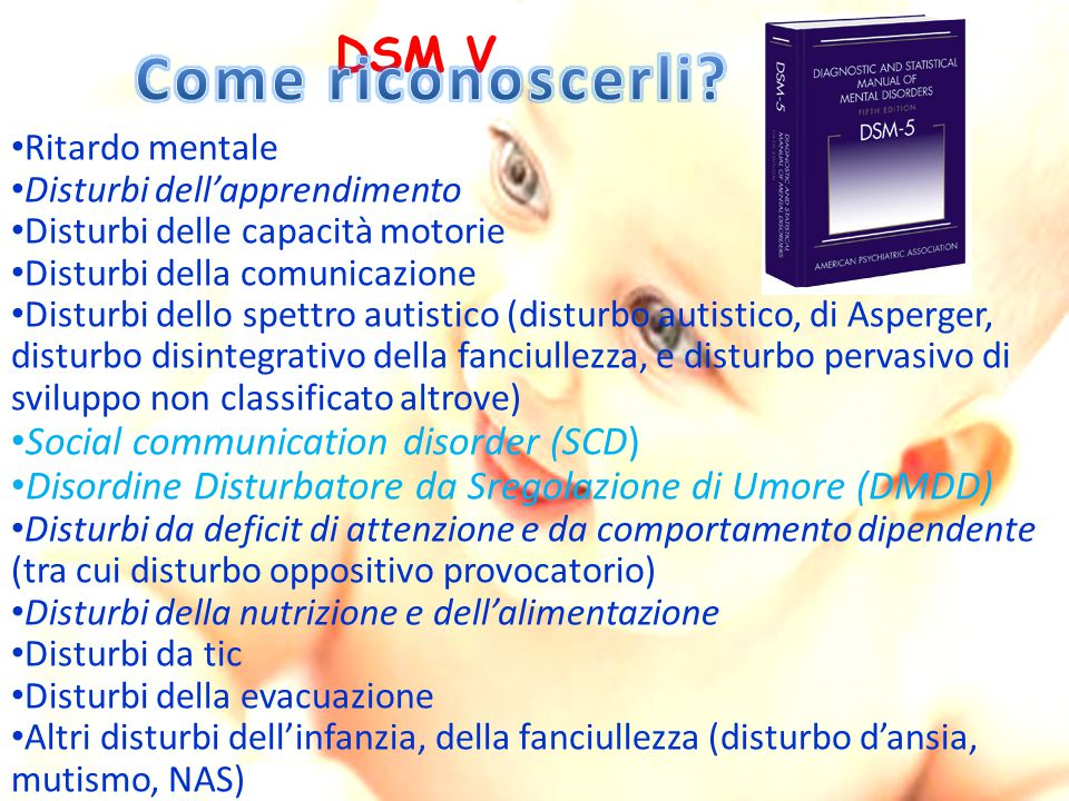 Come riconoscerli DSM V Social communication disorder (SCD)