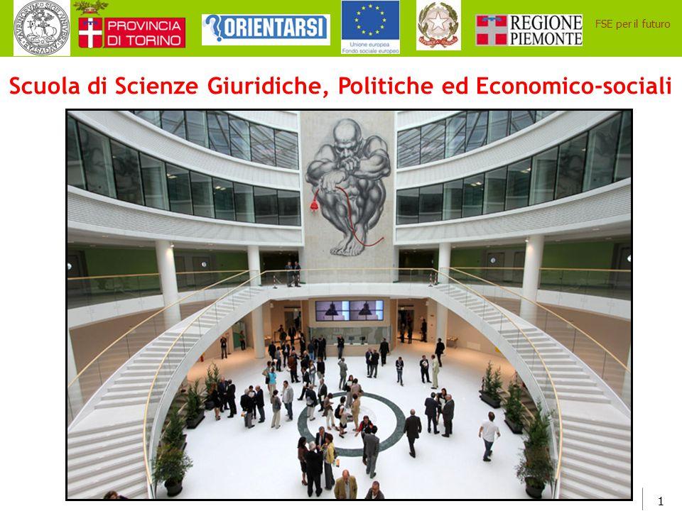 Scuola di Scienze Giuridiche, Politiche ed Economico-sociali