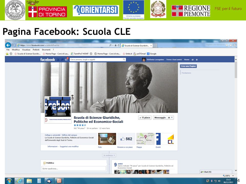 Pagina Facebook: Scuola CLE