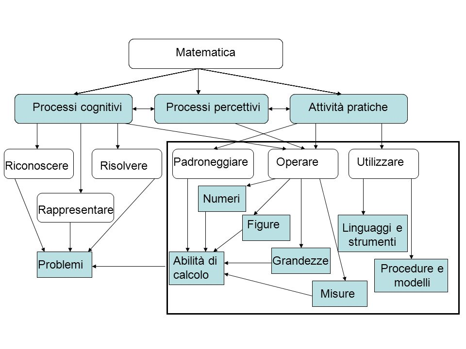 Matematica Matematica. Matematica. Matematica. Processi cognitivi. Processi cognitivi. Processi cognitivi.