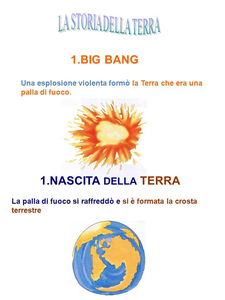 BIG BANG NASCITA DELLA TERRA LA STORIA DELLA TERRA