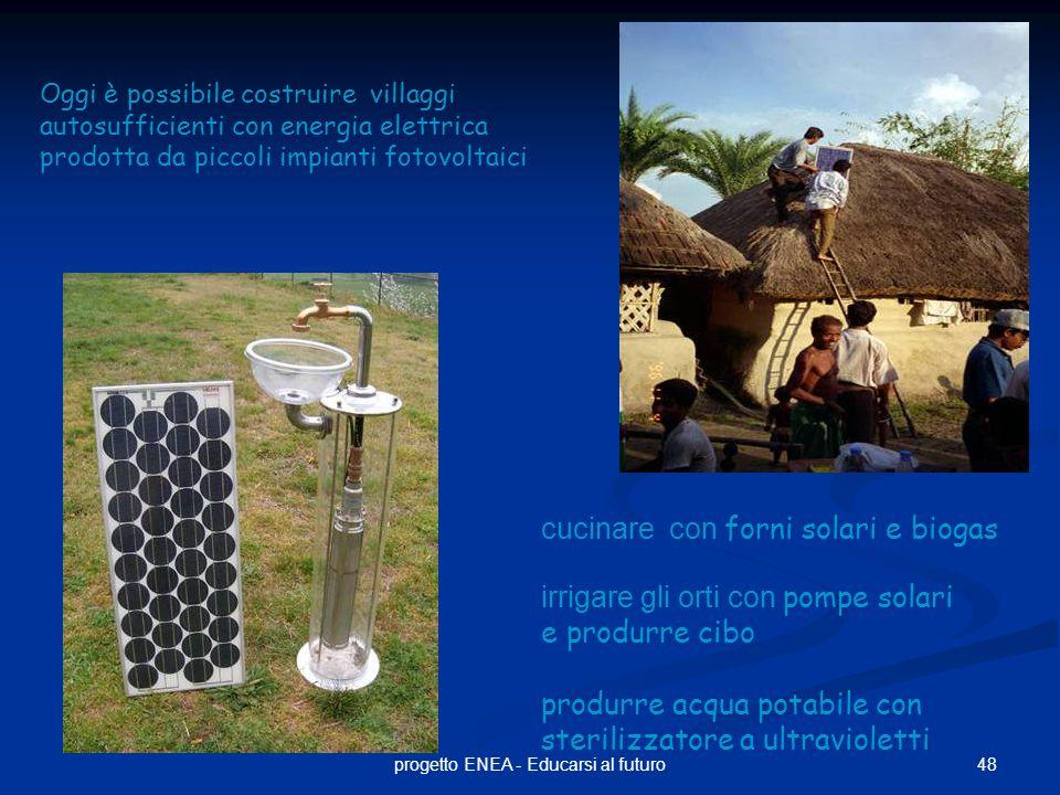 progetto ENEA - Educarsi al futuro