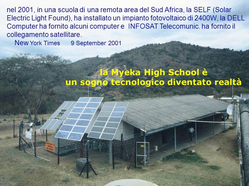 la Myeka High School è un sogno tecnologico diventato realtà