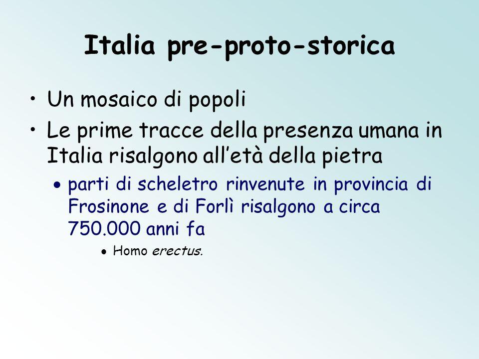 Italia pre-proto-storica