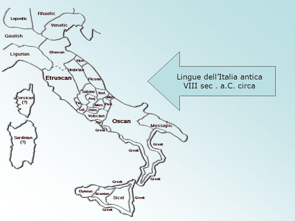 Lingue dell'Italia antica