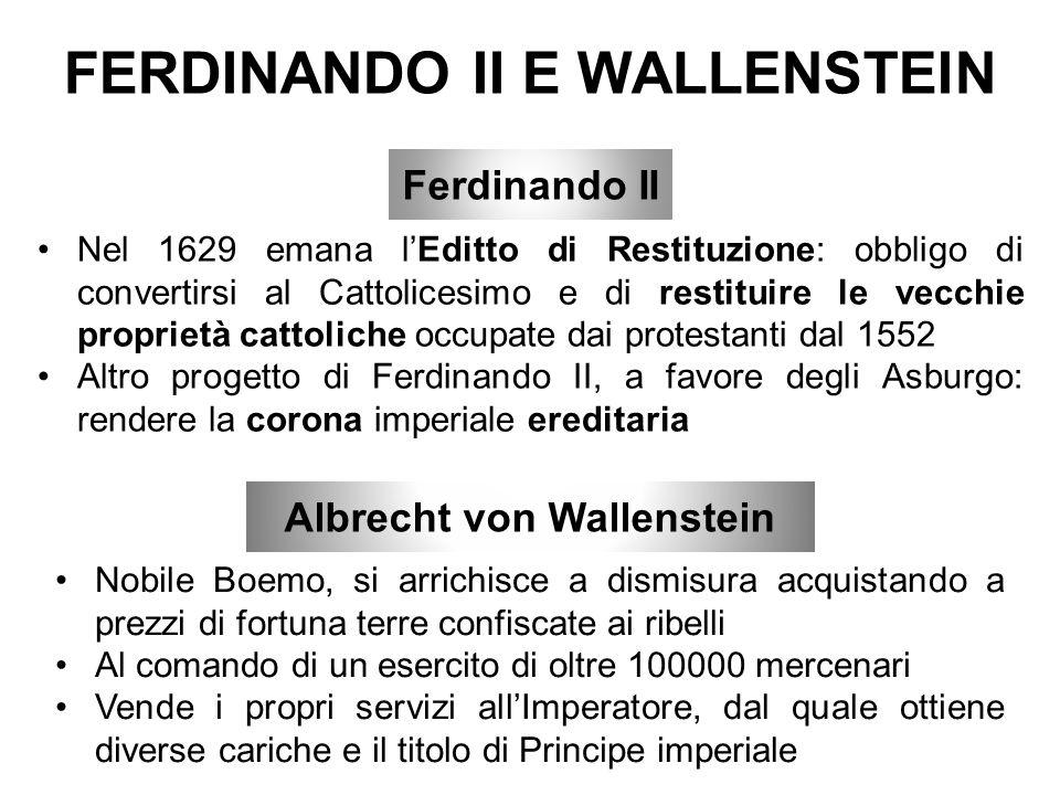 FERDINANDO II E WALLENSTEIN
