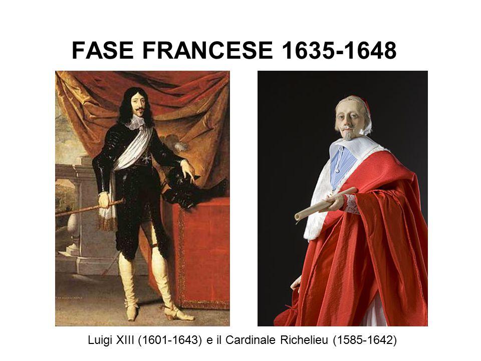 Luigi XIII (1601-1643) e il Cardinale Richelieu (1585-1642)