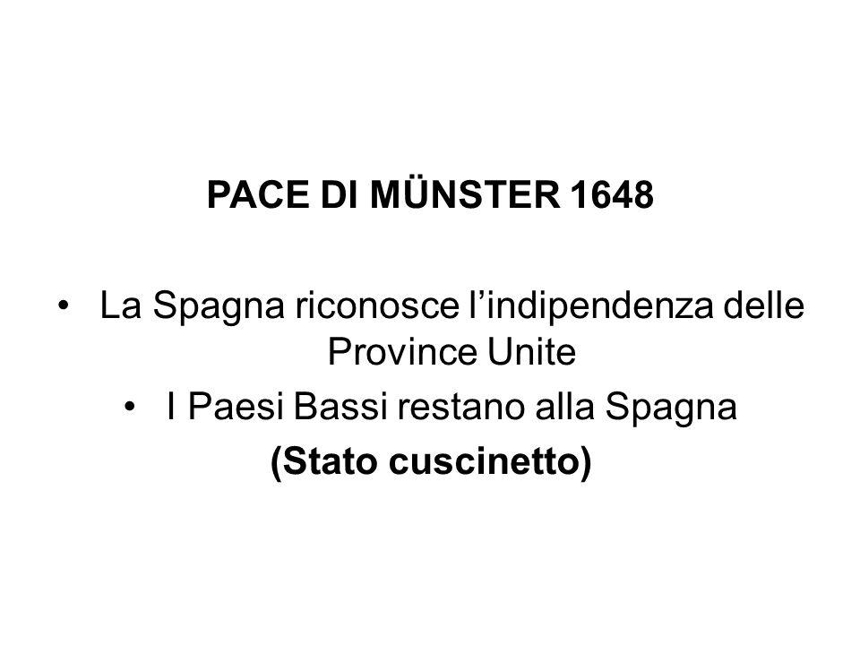 PACE DI MÜNSTER 1648 (Stato cuscinetto)