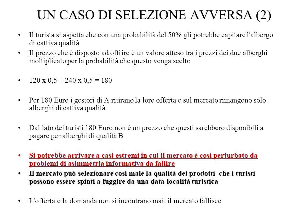 UN CASO DI SELEZIONE AVVERSA (2)