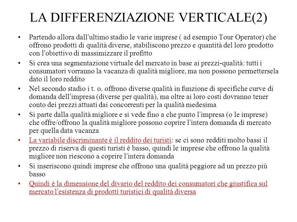 LA DIFFERENZIAZIONE VERTICALE(2)