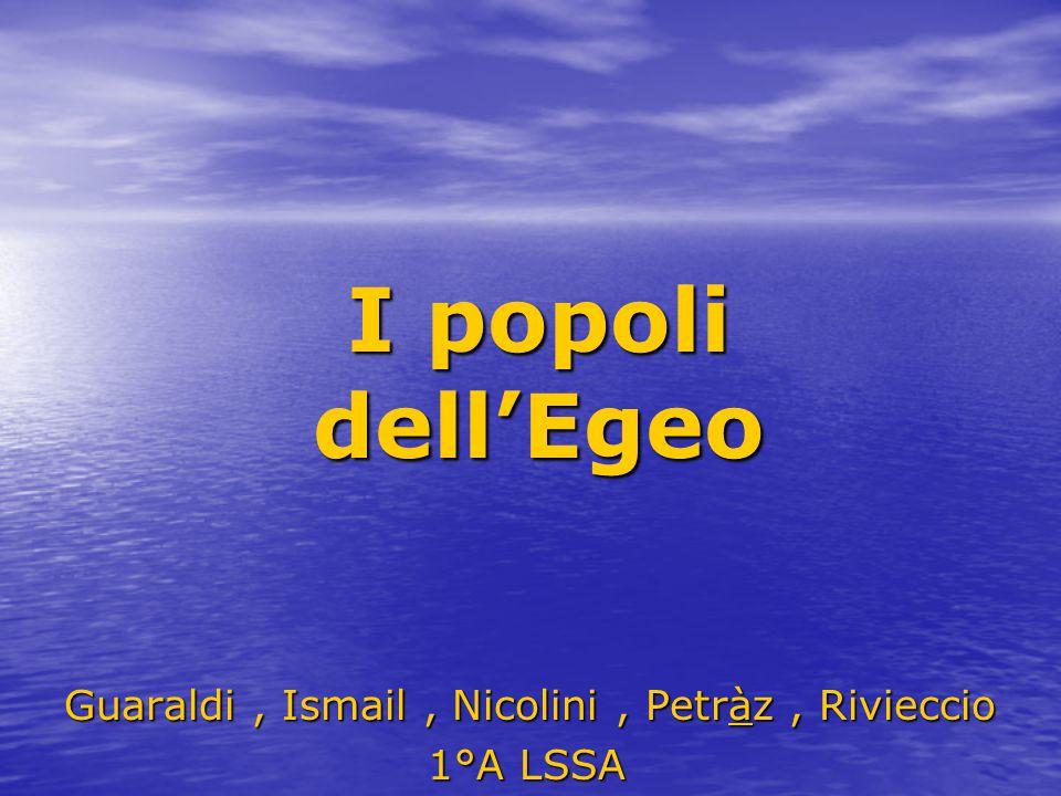 Guaraldi , Ismail , Nicolini , Petràz , Rivieccio 1°A LSSA