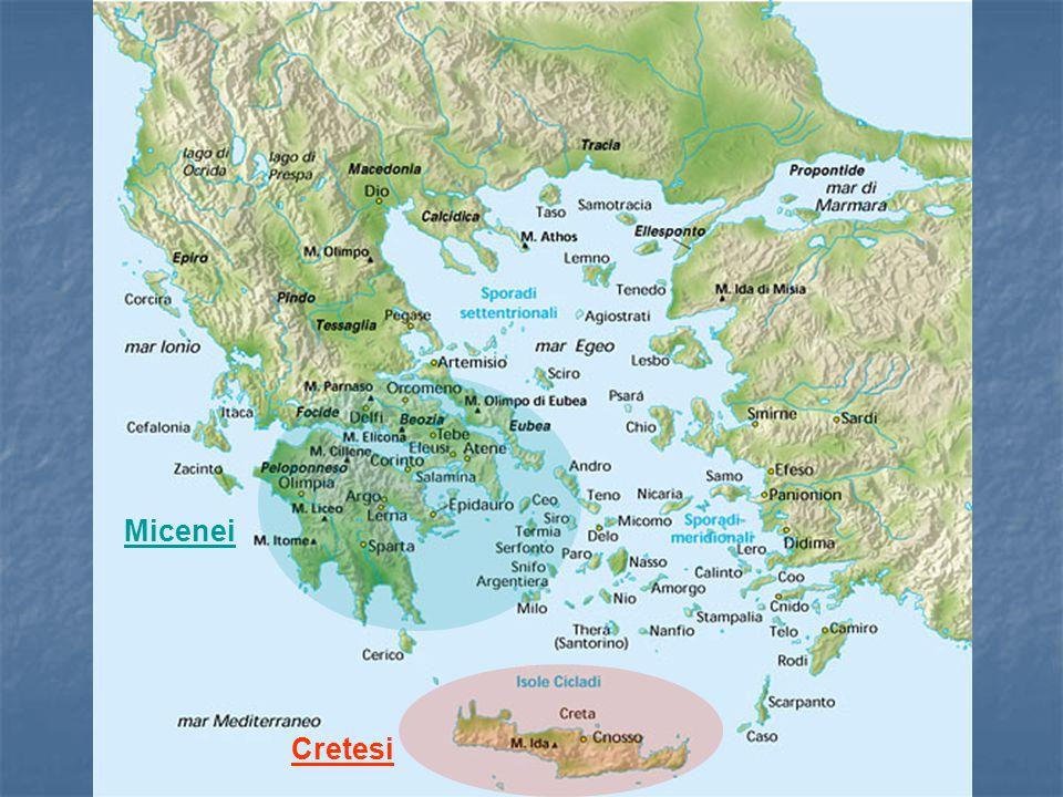 Cartina del Mediterraneo Centrale