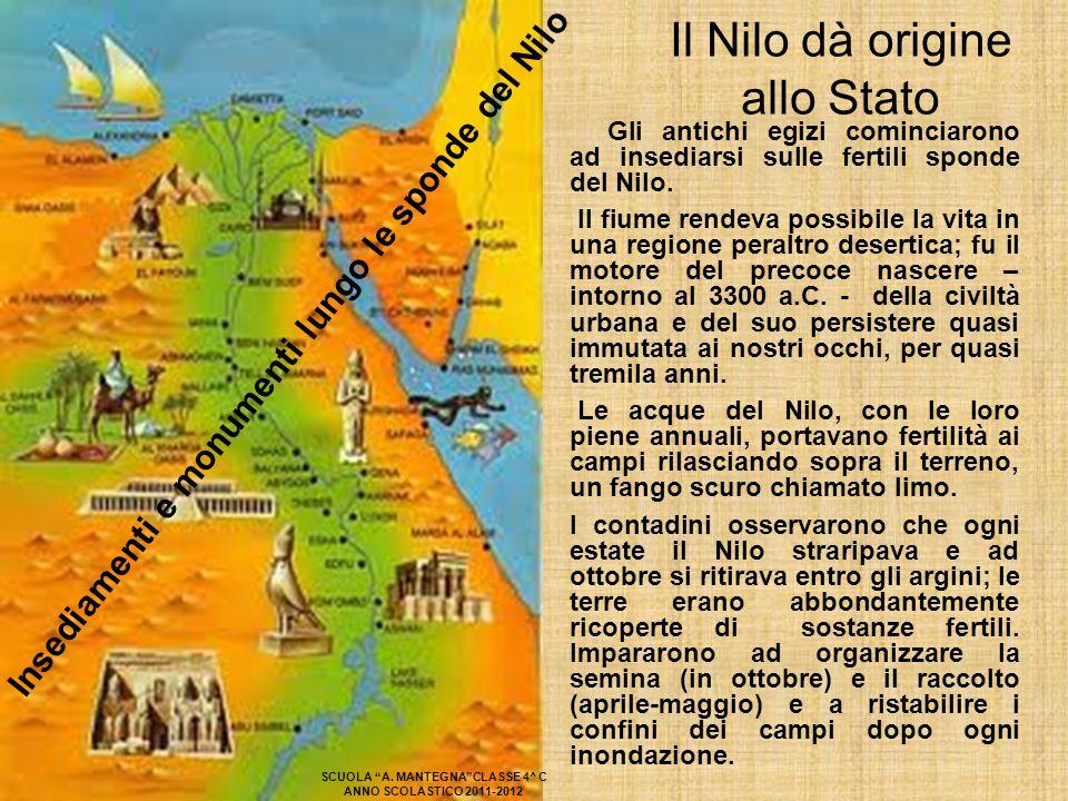 Il Nilo dà origine allo Stato