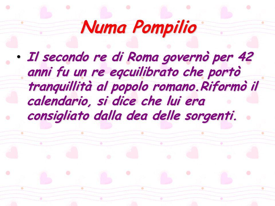 Numa Pompilio