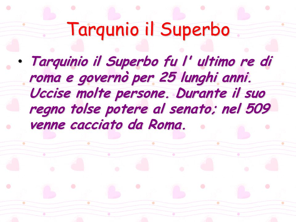 Tarqunio il Superbo
