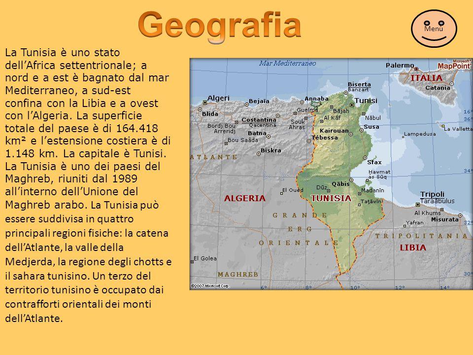 Geografia Menù.