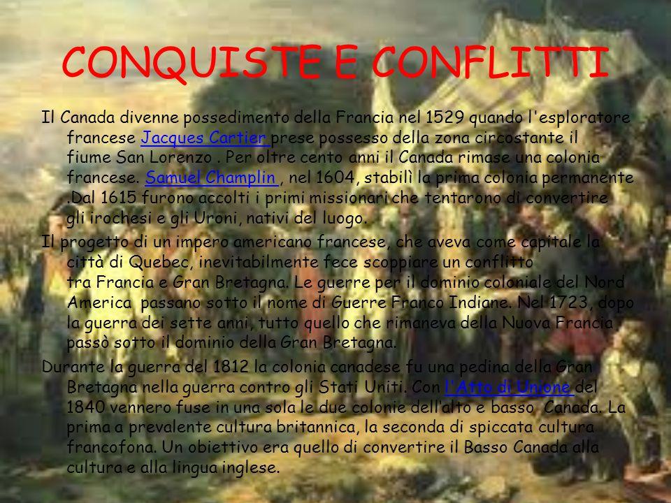 CONQUISTE E CONFLITTI
