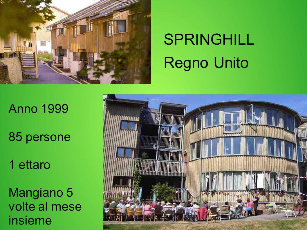 SPRINGHILL Regno Unito Anno 1999 85 persone 1 ettaro