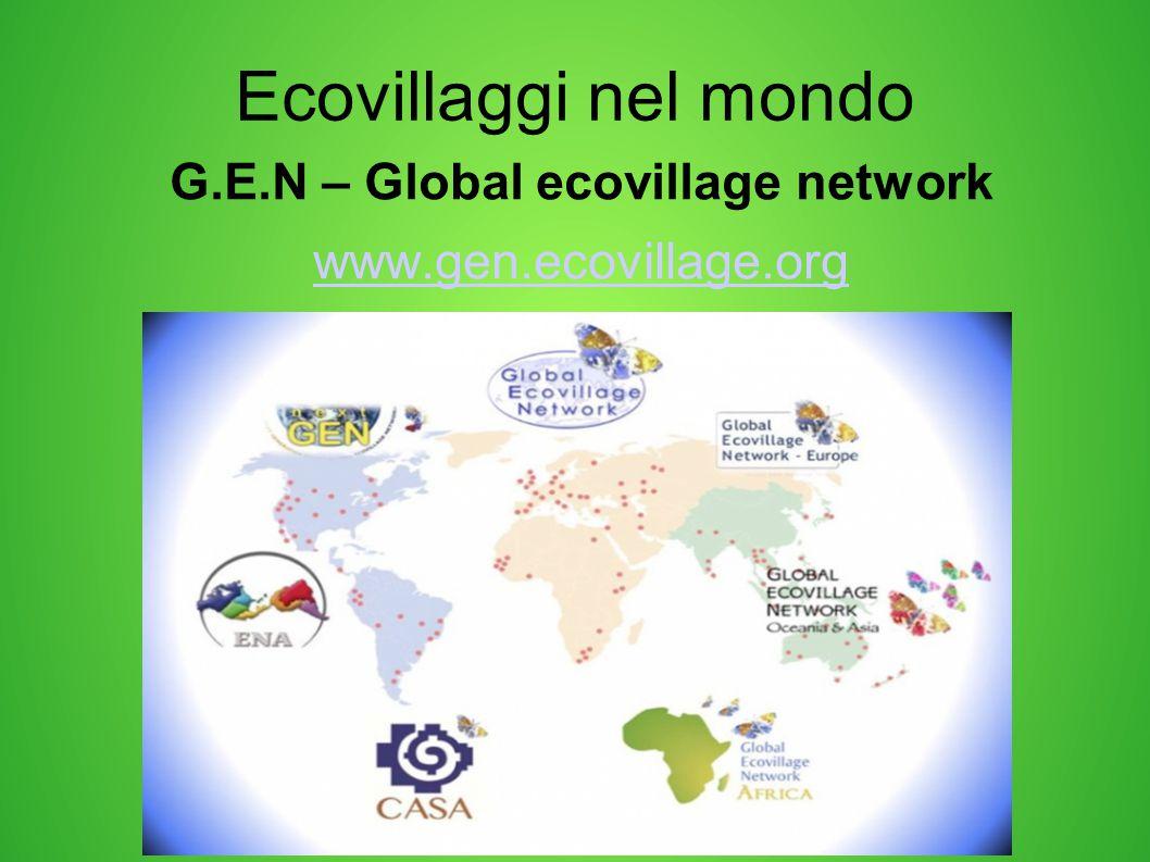 G.E.N – Global ecovillage network