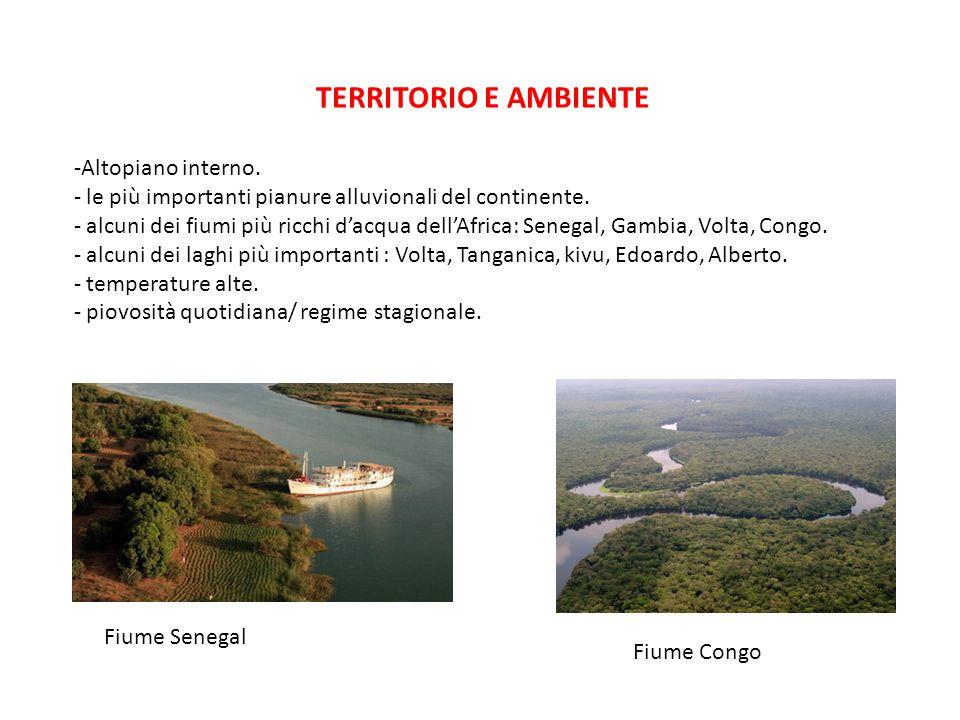TERRITORIO E AMBIENTE Altopiano interno.