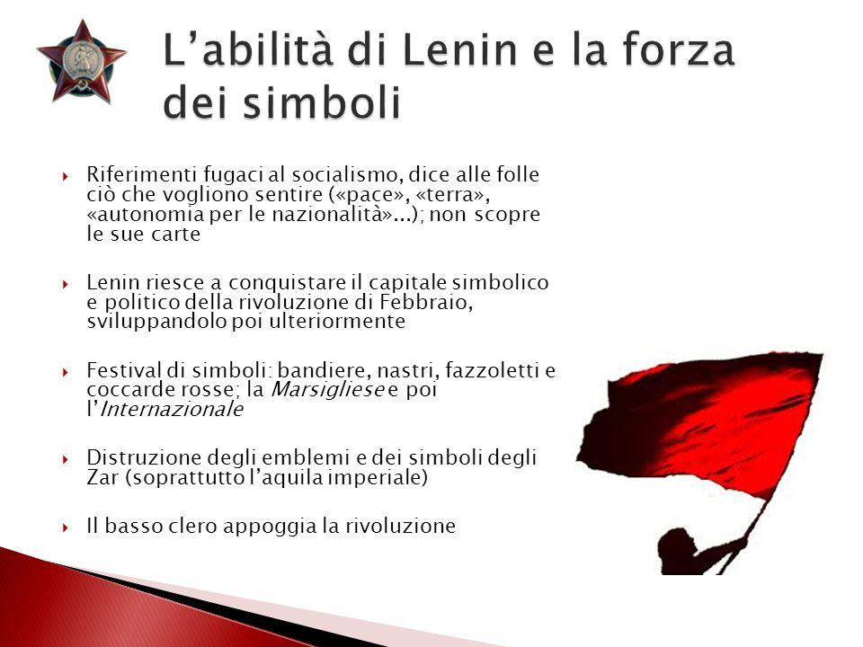 L'abilità di Lenin e la forza dei simboli