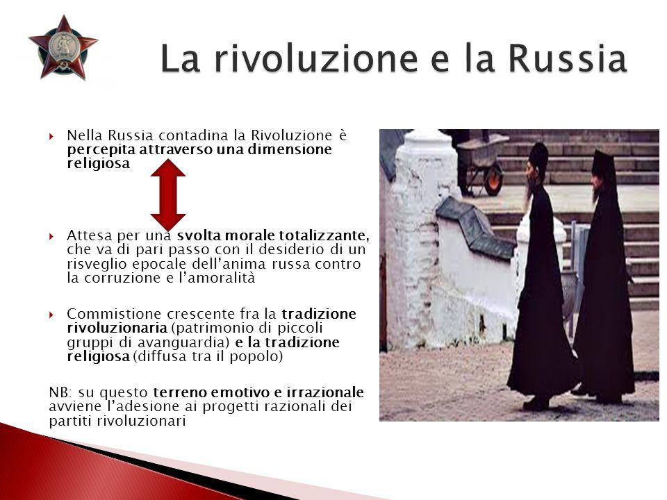 La rivoluzione e la Russia