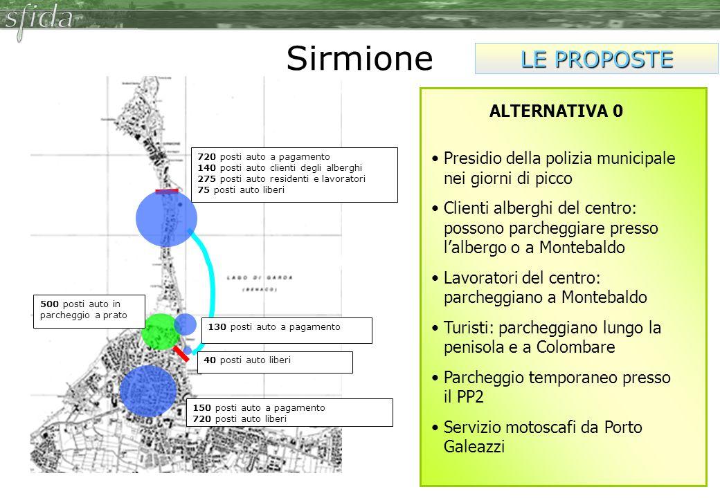 Sirmione LE PROPOSTE ALTERNATIVA 0