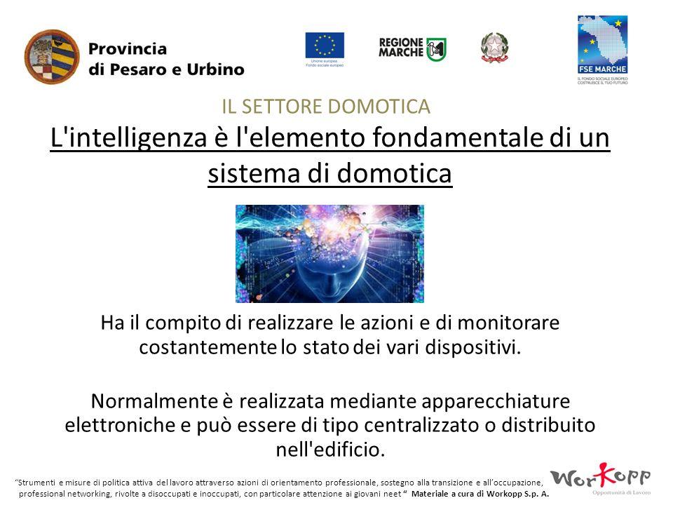 L intelligenza è l elemento fondamentale di un sistema di domotica