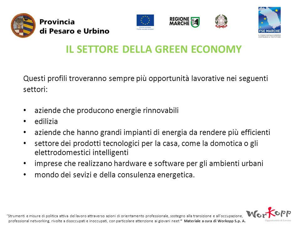 IL SETTORE DELLA GREEN ECONOMY