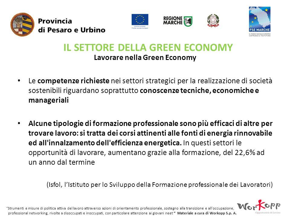 Lavorare nella Green Economy