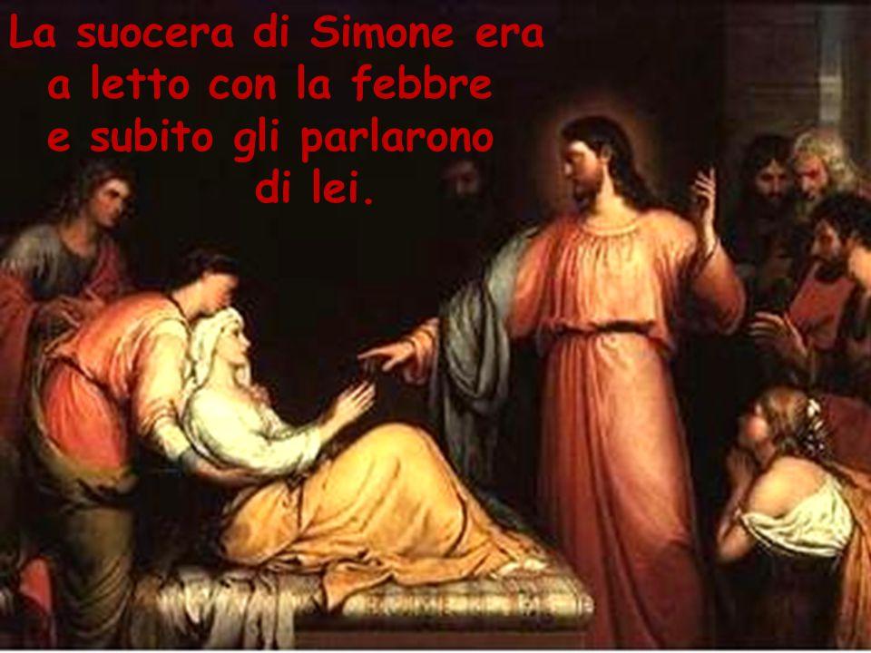 La suocera di Simone era
